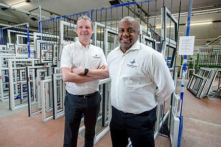 Greg Kane CEO and Mick Giscombe MD 2